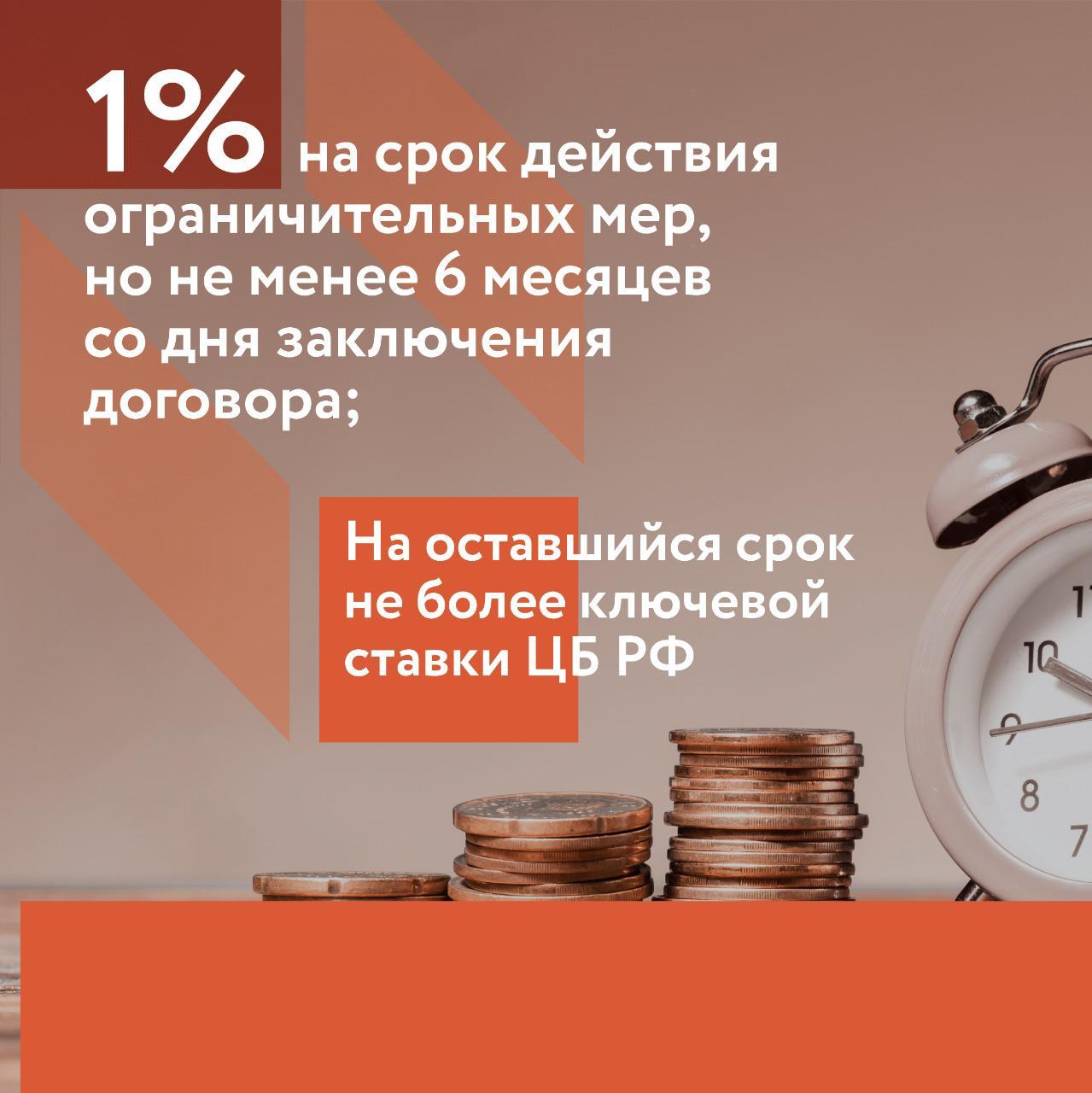 займ под 1 процент годовых